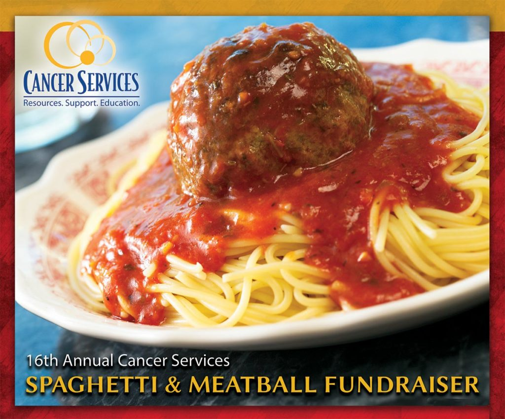 Cancer Services Spaghetti Dinner