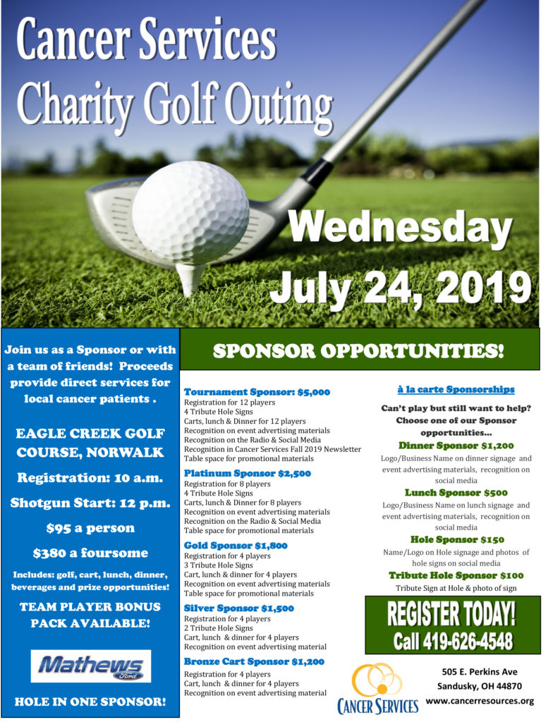 Cancer Services Golf Outing